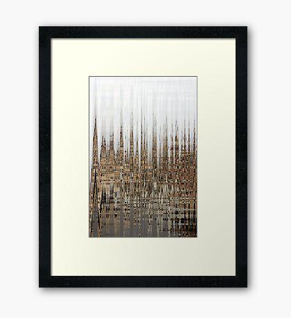 Eco Dystopia Framed Print