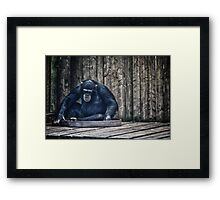 Me Myself & I Framed Print