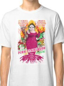 John Waters Pink Flamingos Divine Cult Movie  Classic T-Shirt