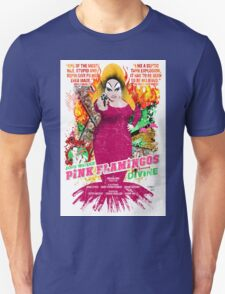 John Waters Pink Flamingos Divine Cult Movie  Unisex T-Shirt
