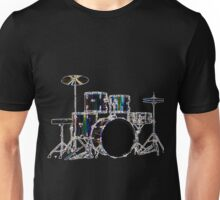 Drum Set 2 Neon Unisex T-Shirt
