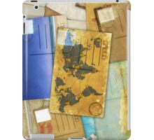 postcard iPad Case/Skin