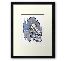 Fish and Precious Framed Print