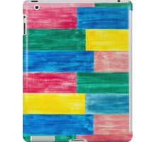 colorful wood iPad Case/Skin