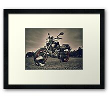 MT303 - Made To Ride Framed Print