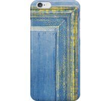 retro wooden door iPhone Case/Skin
