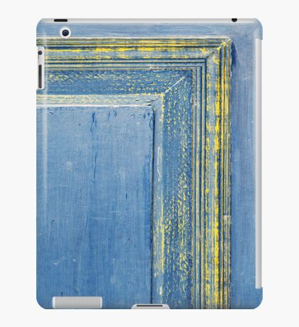 retro wooden door iPad Case/Skin