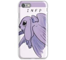 MBTI GHOSTS AND GHOULS- ANGEL BUNNY RABBIT iPhone Case/Skin