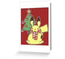 Holiday Pika Pika Greeting Card