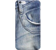 blue jeans iPhone Case/Skin
