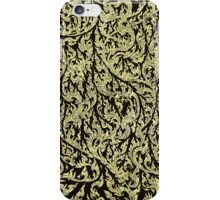 golden dragon pattern iPhone Case/Skin