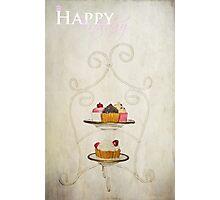 Happy Birthday (Cake Version) Photographic Print