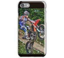 Tommy Searle - USA - Motocross Champion iPhone Case/Skin