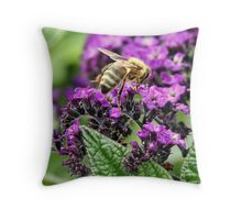 The Pollen Hunter Throw Pillow