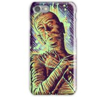 The Mummy Art joe badon universal monster monsters bandages horror classic movie film Boris Karloff Halloween Egyptian prince Imhotep iPhone Case/Skin
