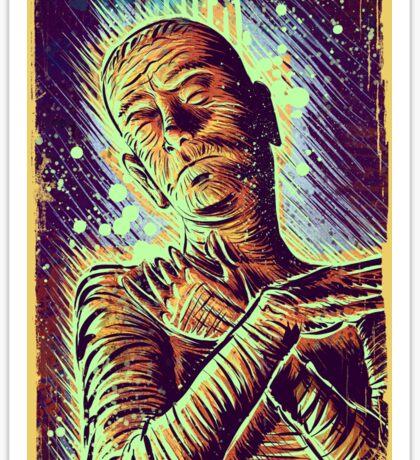 The Mummy Art joe badon universal monster monsters bandages horror classic movie film Boris Karloff Halloween Egyptian prince Imhotep Sticker