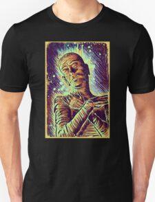 The Mummy Art joe badon universal monster monsters bandages horror classic movie film Boris Karloff Halloween Egyptian prince Imhotep T-Shirt
