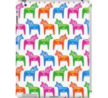 Dala horse (Multicoloured 2) iPad Case/Skin