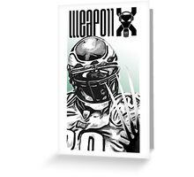Weapon X Greeting Card