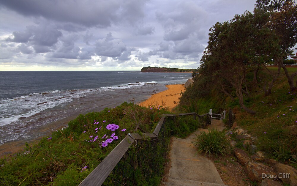 Collaroy Pool steps by Doug Cliff