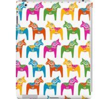Dala horse (Multicoloured 1) iPad Case/Skin