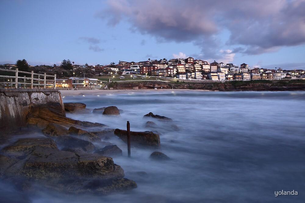 Early Morning Bronte Beach by yolanda