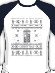 Doctor Who Shirt Ugly Christmas Sweater. Unisex/Adult Sweatshirt. Tardis Shirt. Geek Gift Idea. T-Shirt