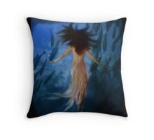 Fathoms Beneath Throw Pillow