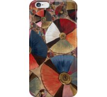 Umbrellas From Above iPhone Case/Skin