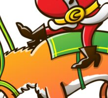 Christmas Rodeo Sticker