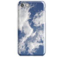 White Clouds, Blue Sky iPhone Case/Skin