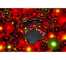 Cindi's Christmas Wreath Photographic Print
