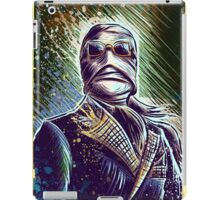Invisible Man art print universal monster monsters cult classic classics horror sci fi science fiction bandage bandages joe badon halloween christmas iPad Case/Skin
