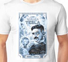 Inventor Nikola Tesla. Thomas Edison. Electricity Unisex T-Shirt