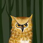 Owl by makoshark