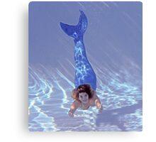 Come Swim With Me! Canvas Print
