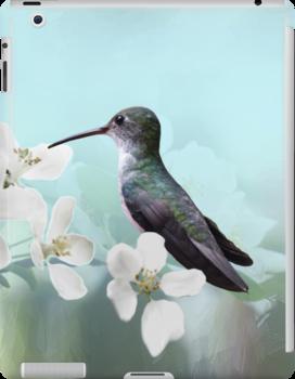 Amazilias iPad Case by Krys Bailey