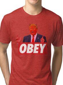 Donald Trump - Obey Tri-blend T-Shirt