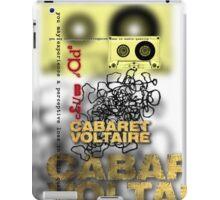 club dada - cabaret voltaire iPad Case/Skin