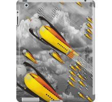 space ship invasion iPad Case/Skin