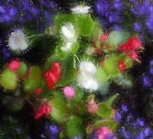 Sparky Flowers by kniferobin