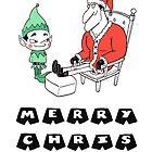 Santa No-Pants by GrimmlingComics