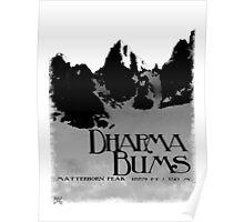 dharma bums - matterhorn peak Poster