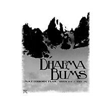 dharma bums - matterhorn peak Photographic Print
