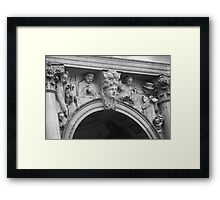 Sculpture architecture Framed Print