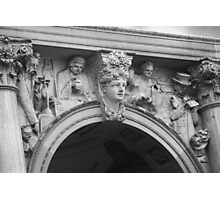 Sculpture architecture Photographic Print