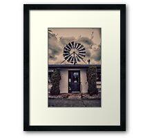 The Rusty Windmill Framed Print