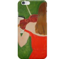 Scarlet Violinist iPhone Case/Skin
