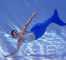 Touchdown Mermaid by AlynnArts