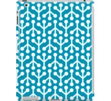 Birdsfoot (Teal blue) iPad Case/Skin